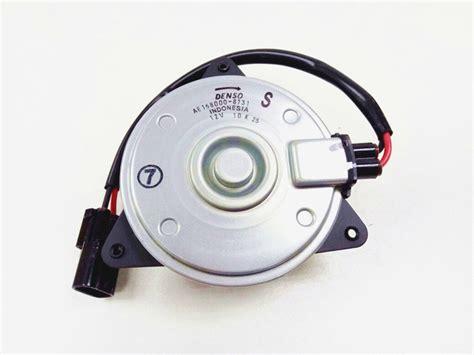 Motor Fan Radiator Honda Mobilio Denso denso original 100 genuine denso fan motor for honda city 08