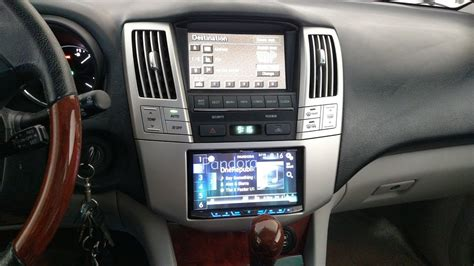 Add Usb Port To Car Stereo by How To Upgrade The Car Stereo On A Lexus Rx330 Add Usb
