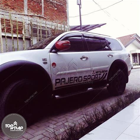 Kaca Spion Pajero Sport 09 jual sticker spion striping pajero sport stiker mobil