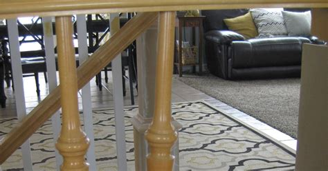 replacing stair banister tda decorating and design diy stair banister tutorial
