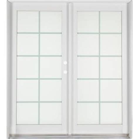Patio Doors At Home Depot Ashworth Professional Series 72 In X 80 In White Aluminum Wood Patio Door