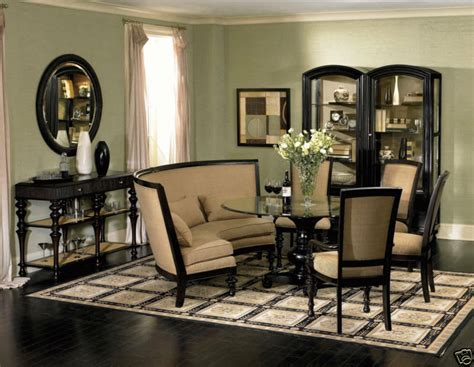 banquette dining room ventura traditional banquette style dining room table chairs set furniture ebay