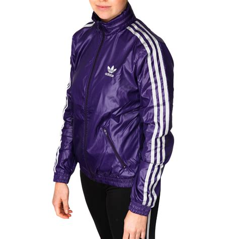 Jaket Adidas Outewear Original Brandedsyndicate 1 adidas originals womens cr windbreaker jacket eggplant silver sportitude