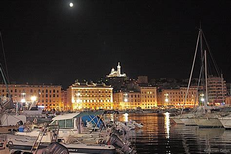 le vieux port de marseille photo by night global