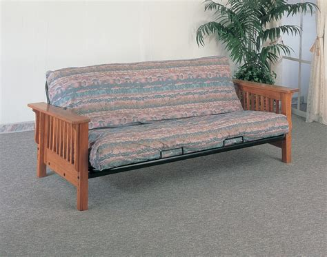 Oak Futon by Cardinal Collection 4844 Oak Futon