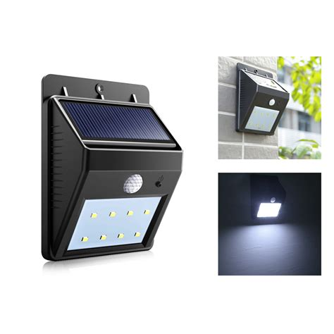 Solar Pir Porch Light Solar Lights Blackhydraarmouries Buy Solar Lights