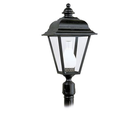 outdoor post light fixture shop sea gull lighting bancroft outdoor post fixture at