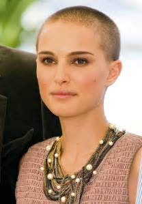 womens buzzed and bold haircuts celebrities who shaved their heads charlize theron natalie portman more buzz cut beauties