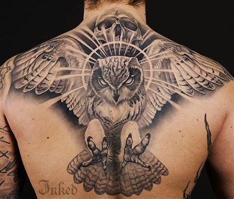 intimidating tattoos pin by inked magazine on bird tattoos