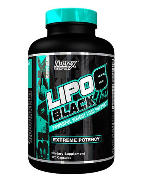 Sale Cap Womancaps Bpom Supplement Nutrex Research Lipo 6 Black Hers
