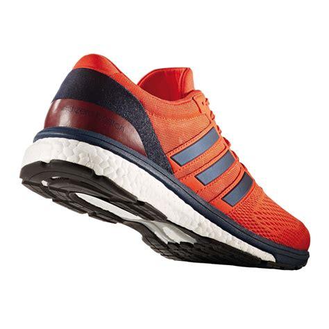 Adidas Running For adidas adizero boston 6 mens orange blue sneakers running
