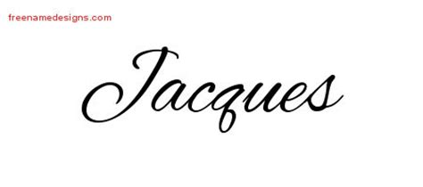 Jacques Tattoo Font | jacques archives free name designs