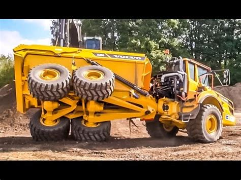 Volvo A50 Dumper Excavator By Volvo What A