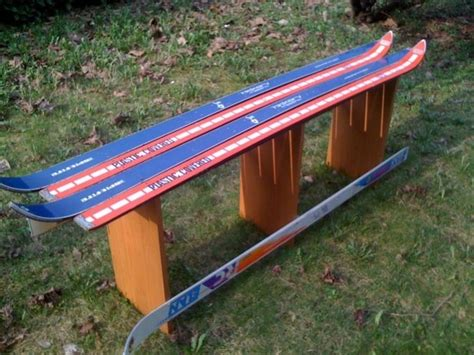 ski benches ski bench for the home pinterest