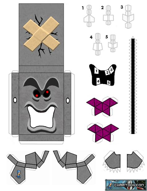 Paper Craft Mario - web wanderers august 2011