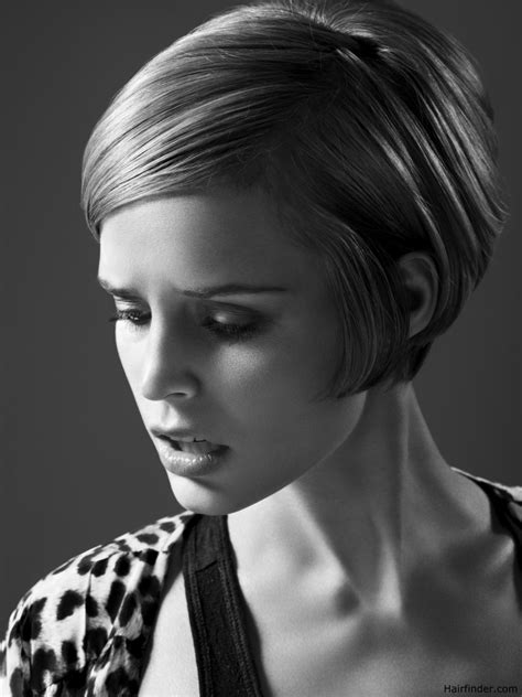 clothing style with short hair cut short and sleek 60s fashion hairstyle