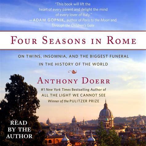 all the light we cannot see audiobook four seasons in rome audiobook by anthony doerr official