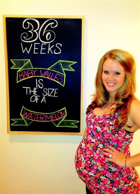 fruit 36 weeks 36 weeks pregnancy chalkboard pregnancy chalkboard ideas