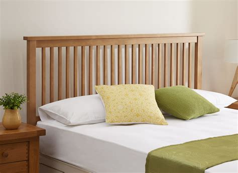 wooden headboards uk atlanta headboard natural oak wood