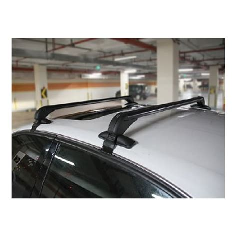 universal anti theft car roof bars for cars without rails