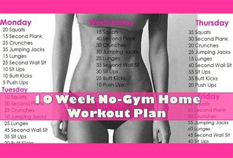 home gym workout plan 10 week no gym home workout plan points recipes