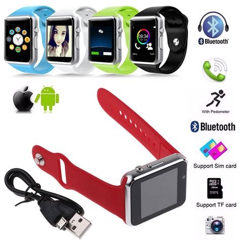 Smartwatch A1 U10 Support Simcard And Slot Memory new a1 bluetooth with sim tf card slot smartwatch for mobile phones ebay