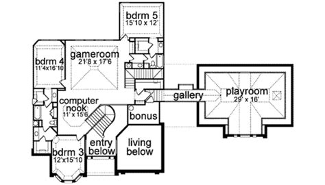 european style house plan 5 beds 7 baths 6000 sq ft plan european style house plan 5 beds 4 baths 5402 sq ft plan