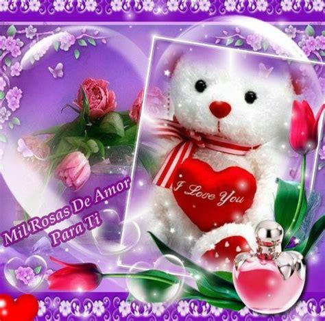 imagenes de rosas y ositos ositos con rosas de amor imagui