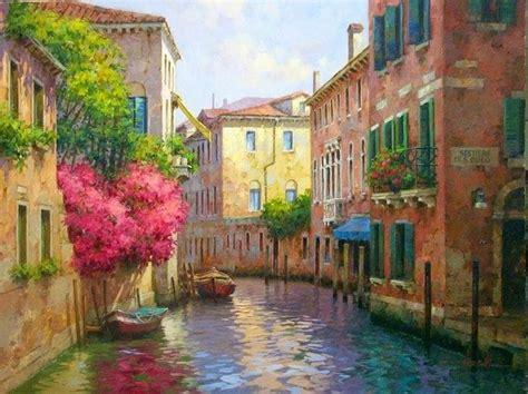 fiori luiss luis claudio morgilli 1955 impressionist painter tutt