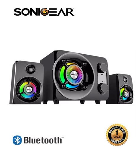 Speaker Sonic Gear Titan 9 sonic gear titan 9 btmi bluetooth multimedia speaker