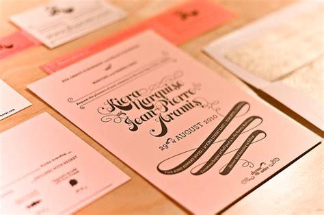 pink wedding invitations pink gold wedding invitations