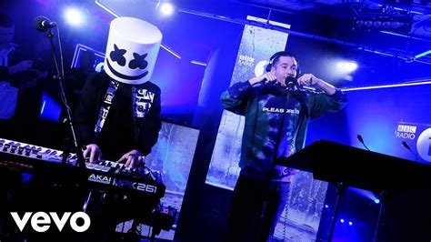 marshmello and bastille marshmello featuring bastille happier in the live lounge