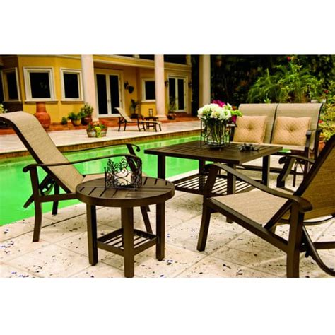 Sling Lite Chair by Cortland Sling Deep Seating Patio Collection By Woodard