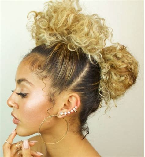 natural curls on pinterest natural curly hair natural photos cute hairstyles for naturally curly hair black