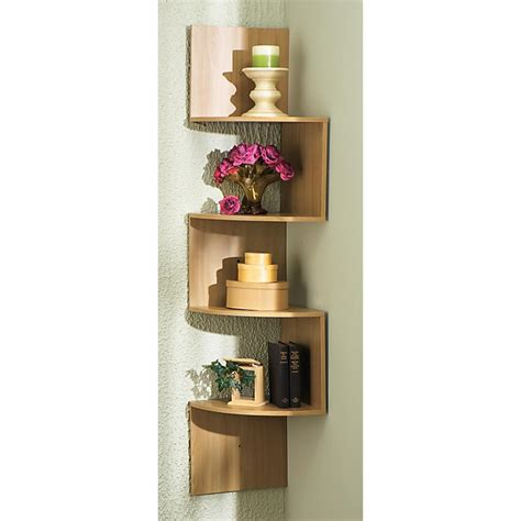 How To Hang A Corner Shelf by Hanging Corner Shelves 134406 Housekeeping Storage At