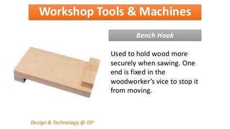bench hook uses workshop tools machines