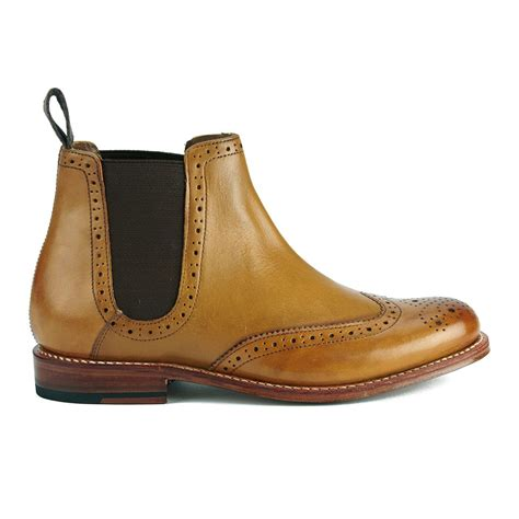 best womens chelsea boots grenson s brogue chelsea boots free
