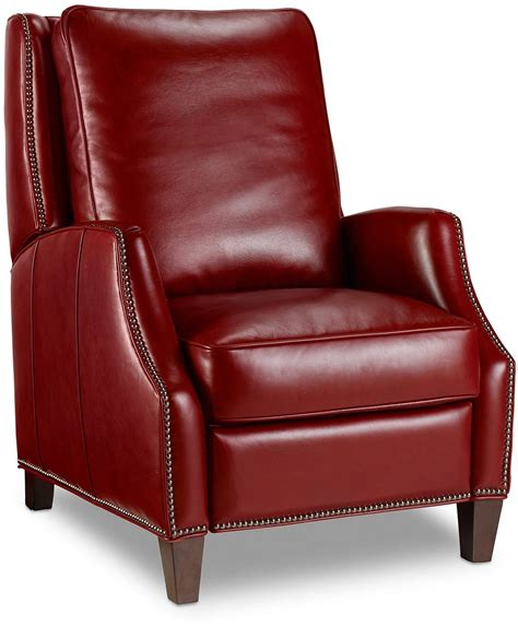 red leather recliner kerley red leather recliner from hooker coleman furniture