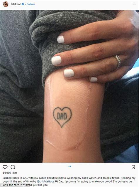 kent tattoo bandung instagram lala kent of vanderpump rules gets tattoo in honor of late