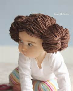 wars hair styles repeat crafter me princess leia yarn wig