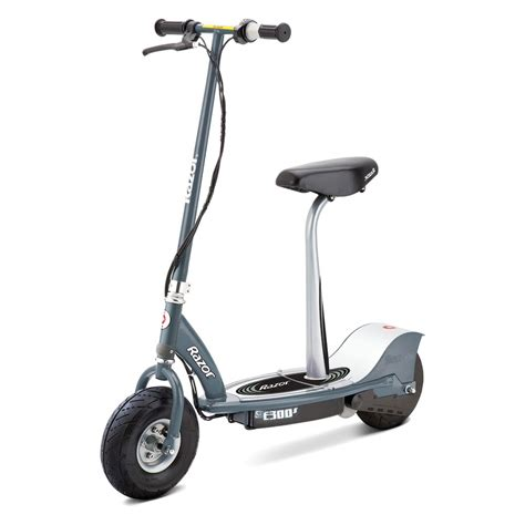 electric scooter with seat razor razor 174 13116214 e300s electric scooter with detachable