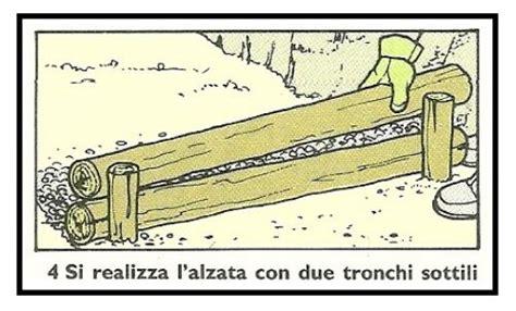 come fare un terrazzamento i gradini di tronchi di ilprim 242 orto