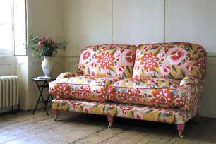 Floral Upholstery Fabric Decorating With Patterned Upholstered Furniture