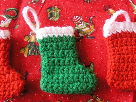 free pattern for crochet christmas stocking ornament the striped deckchair crochet pattern for a mini