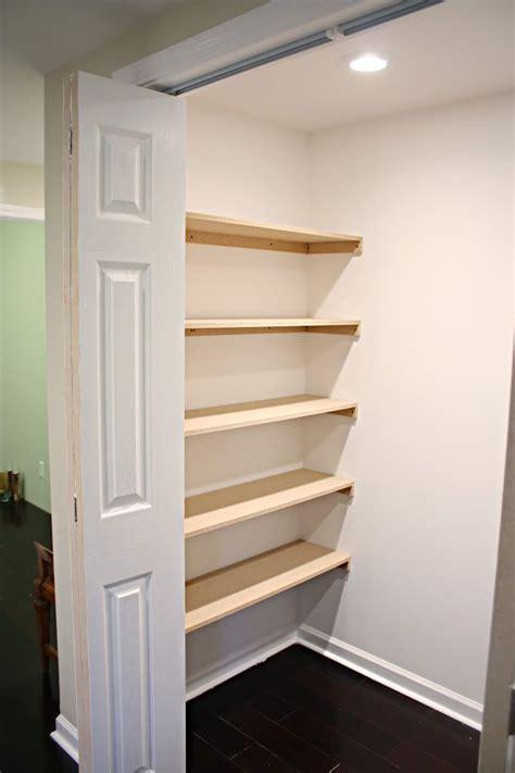 closet organization shelves diy  bath building