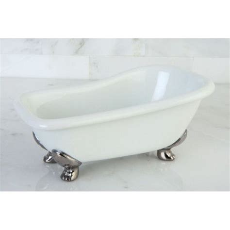 miniature clawfoot bathtub kingston miniature white clawfoot bath tub soap dish