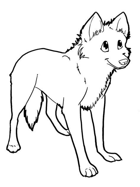 imagenes para colorear lobo descargue e imprima gratis dibujos para colorear lobos