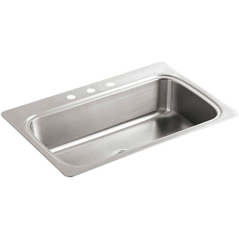 stainless steel sink undercoating frankeusa top mount stainless steel 33x22x8 4 hole single