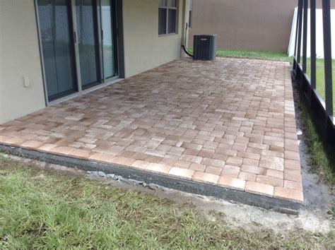 backyard paver patios brick pavers ta florida driveway pavers patio pavers