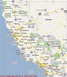 susan map of california